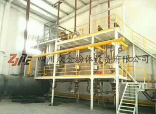 众金粉体-氮气保护气流粉碎机